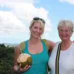 Emily & Barbara in Puerto Rico