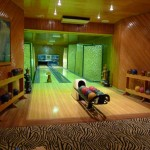 Bowling alley at Namale Resort & Spa in Fiji