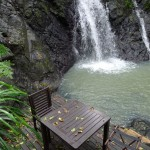 Waterfall at Namale Resort & Spa in Fiji