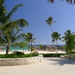 Beach at Majestic Colonial resort, Punta Cana